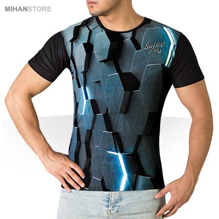 مدل تیشرت استین کوتاه مردانه پسرانه اسپرت سه بعدی